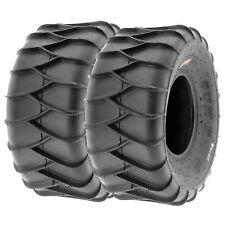 SunF 22x10-9 ATV UTV Tires 22x10x9 Sand & Snow Tubeless 6 PR A036  [Set of 2]