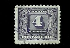 1930 Canada 4c Postage Due Stamp J8!