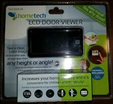 "Home Tech 2.8"" LCD Visual Monitor Door Peephole Viewer With Doorbell - New!"