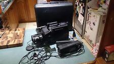 RETRO VINTAGE PANASONIC NV-M7EA VHS VIDEO CAMERA WITH CASE & ACCESSORIES