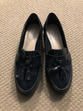 Women's Carvela Kurt Geiger Shoes Size 38/7 Blue Loafers