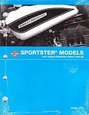 2007 Harley Sportster 883 1200 XL883 XL1200 Parts Part Manual Catalog 99451-07A