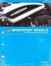 2007 Harley Sportster 883 1200 XL883 XL1200 Parts Part Manual Catalog 99451-07A