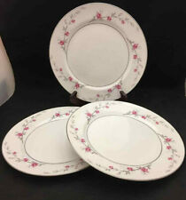 Norleans Debonaire Dinner Plates (set of 3) - Vintage Fine China from Japan