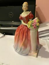 Flawless Royal Doulton Figure Roseanna Hn 1926 Figurine Made In England