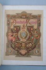 Albert Traeger - Deutsche Kunst in Bild und Lied, 1876