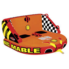 Sportsstuff 53-2213 Big Mable Towable 2 Rider Inflatable Water Boat Tube Toy