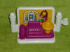 Fisher Price Little People Pet Shop Cash Register Bird Stand Fence