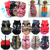 Chihuahua Dog Sweater Coat Jacket Small Pet Clothes Puppy Warm Apparel Costume
