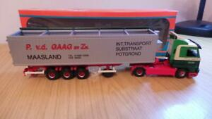 HB29: Tekno 1:50 Scale Scania R143 GAAG en Zn Truck - Exc / Boxed