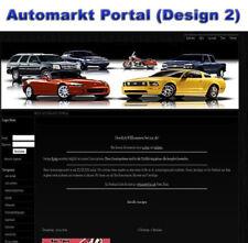 Automarkt Portal (design2) - PHP Script