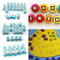 Alphabet Number Letter Cookie Biscuit Stamp Mold Cake Cutter Embosser Mould Tool