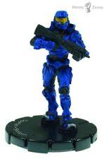 Halo ActionClix #038 Blue SPARTAN M90 Shotgun with Stat Card Uncommon
