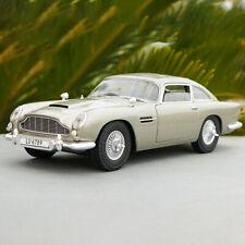 Hot Wheels 1/18 Aston Martin DB5 007 Movie Boutique Gold Alloy Car Model