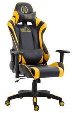 Chaises modernes jaunes pour le bureau