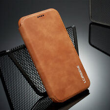 For iPhone X 6s 7 8 Plus Slim Flip Magnetic Leather Case Card Wallet Cover Stand