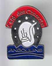 RARE PINS PIN'S .. TABAC TOBACCOS PIPE BAR CAFE DES CHARENTES ANGOULINS 17 ~C8