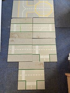 LEGO Job lot of 33 Various Large & Medium Building Base Bricks & Plates
