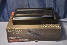 Kenwood Excelon X700-5 Channel MOS-FET Power Amplifier, 700W total
