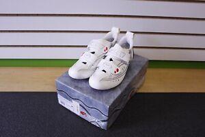 Sidi T3.6 Vent Air Carbon Triathlon Shoe White / Silver Size 8 EU 41.5