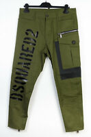 Dsquared2 men green pants 48 brand new RRP 679 gbp