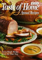 1999 Taste of Home Annual Recipes by Julie Schnittka