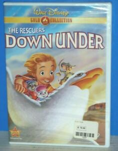 The Rescuers Down Under (DVD, 2000, Gold Collection Edition) Brand New!!!
