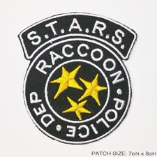 """RESIDENT EVIL S.T.A.R.S. Raccoon City Police Patch - LARGE """"FULL SIZED"""" VERSION!"""