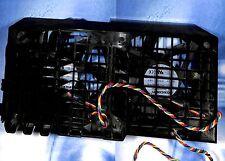 Dell Precision T3500 T5500 2X FAN + CASE 120x120 mm - PN: 0HW856