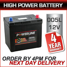 Powerline 005L Heavy Duty Car Battery 12V fits many Subaru Suzuki Toyota