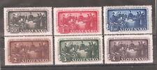 Slovakia 1942 ,Education Society,Scott # 77-82,VF-XF MNH** (MB-5)