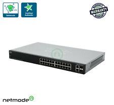 New Cisco SG200-26FP-NA 26-port Gigabit Full-PoE Smart Switch