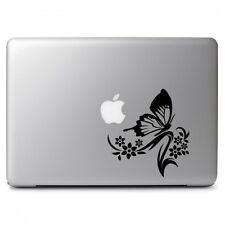 Butterfly Flower Ornament for Macbook Air Pro Laptop Car Art Vinyl Decal Sticker