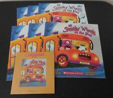 The Spooky Wheels on the Bus PB Scholastic Listening Center 6 Books with CD