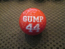 LOGO GOLF BALL-BUBBA GUMP SHRIMP CO....#44 GUMP.....RED BALL....NEW