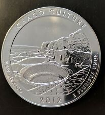 2012 5 oz America the Beautiful .999 Silver ATB Chaco Culture National Park,NM