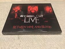 New Model Army Between Wine And Blood Live Limited Edition 3x CD+DVD New&Sealed