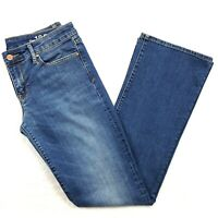 Gap 1969 Womens Size 29 Sexy Boot Jeans, Medium Wash Low Rise Bootcut, Inseam 32