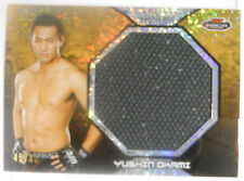 2013 Topps UFC Finest Yushin Okami SP Gold Ref Jumbo Event U Fight Mat Relic /88