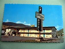 TraveLodge Motel CACHE CREEK B C Canada Sleepy Bear Sign Vintage Postcard