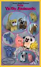 """Crochet  toy pattern """"Baby Yo Yo Animals"""" Annie Potter"""