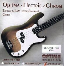 Optima/Maxima  Chrome Bass Strings 50-105 Roundwound