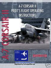 VOUGHT A-7 CORSAIR II Fighter PILOT MANUAL BOOK