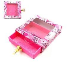 Wholesale Lashes Box 10pcs Hard Cardboard False Eyelash Packaging Box Empty