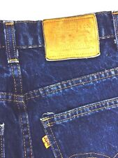 Vintage Levi's Orange Tab Jeans Boot Cut Usa Streetwear Boho Rocker 1980s