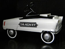 A Pedal Car 1950s Custom Hot Rod White Body Sport Vintage Classic Midget Model