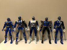 Power Rangers Blue Ranger Lot- 5 Loose Figures, No Accessories $0.99 Auction!!