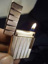 S. T. Dupont Line 1 Lighter - Rose Gold Plated - Serviced - Feuerzeug/Briquet