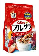 Japanese Cereals Calbee Fruits Granola 800g Ship from Japan