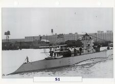 1918 USS S-1 (SS-105) S-Class Submarine / Warship Photograph Maxi Card /
